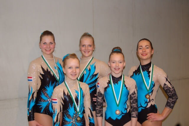 Internationaal podium voor acroteams WSBF