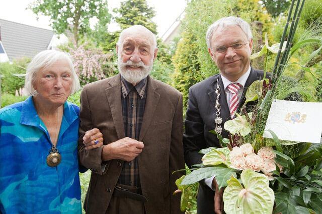 65 jarig huwelijk van Vliet