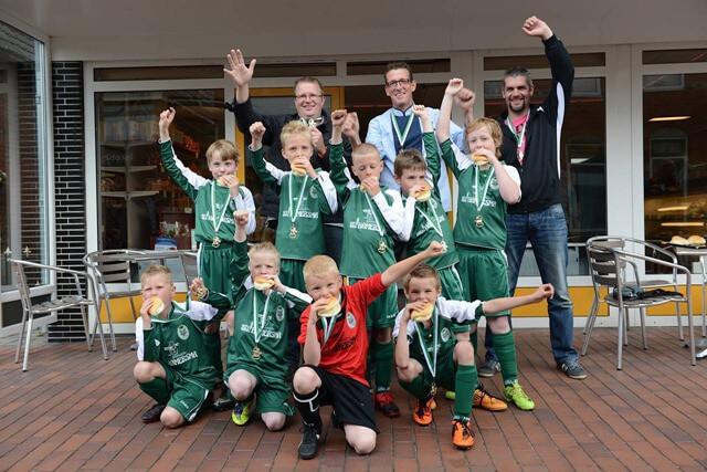 FC Grootegast F2 kampioen