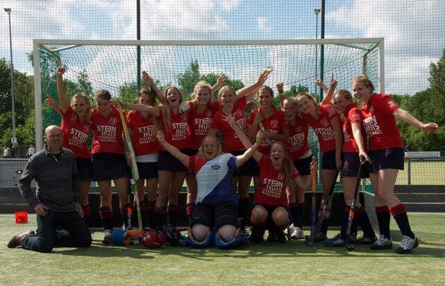 MA1 kampioen 2011-2012 MHC Westerkwartier