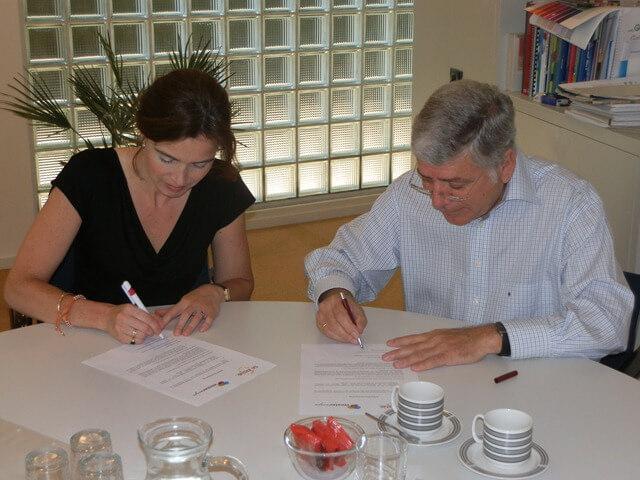 ondertekening de Kring en Westerwijs