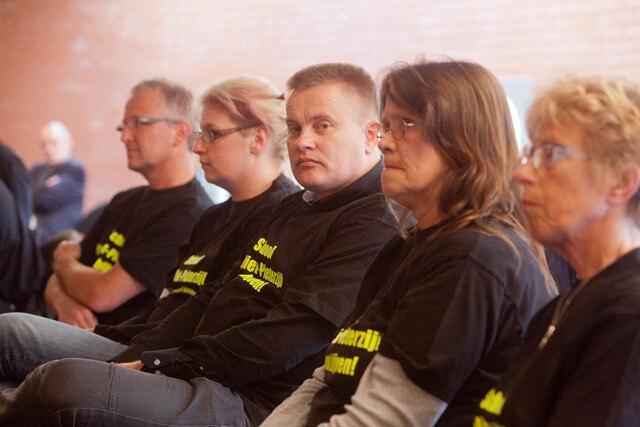protestgroep gemeenteraad Zuidhorn
