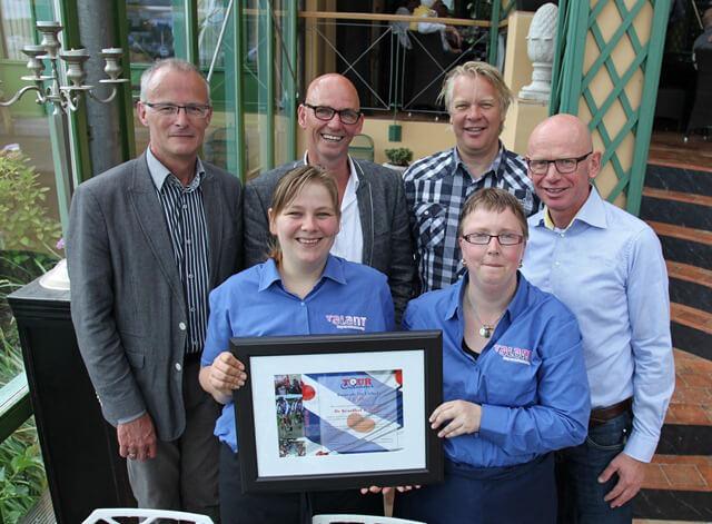 Tour Culinair 2012=cheque Kruidhof