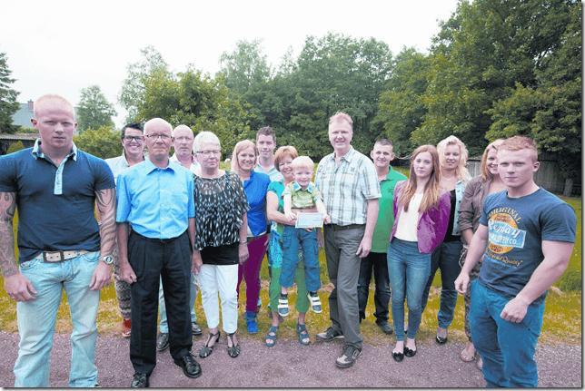 5 jaar taart familie Niekerk