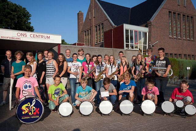 5 jaar taart muziekkorpsen
