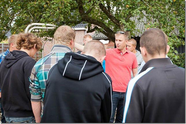 Hummel Noordhorn en AOC leerlingen