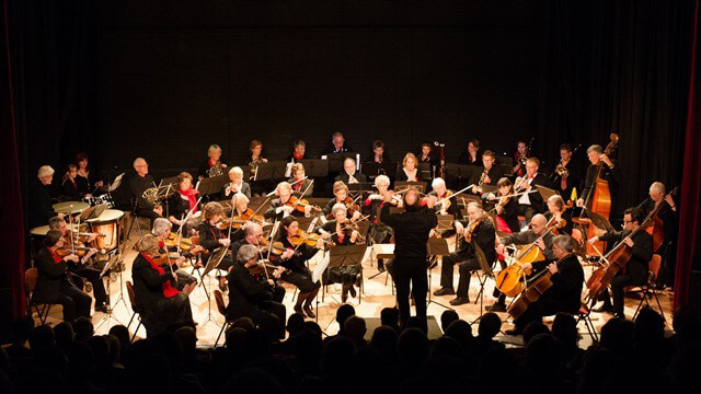 Opende baron theater Fries orkest-1