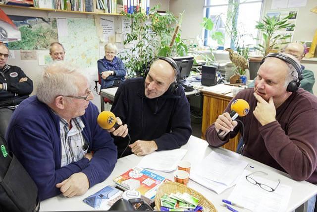 Uutlooper uitzending Radio Noord