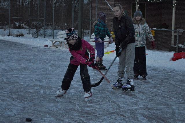 kootstertille - ijshockeybaan