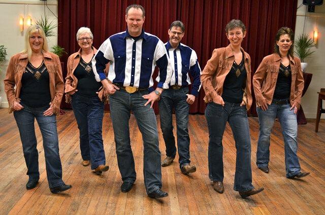 country linedance groep El Roja