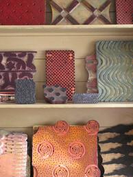 BLIJA - oude textielstempels