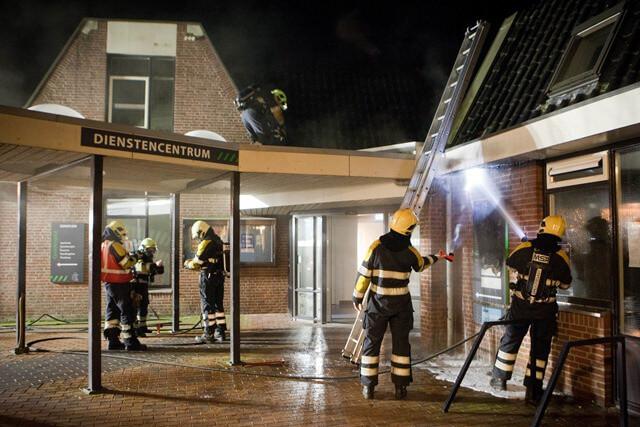 Brand Dienstencentrum Grootegast