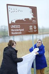 DOKKUMER NIEUWE ZIJLEN - Unesco bord
