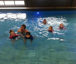eerste-zwemles Zwemcentrum Zuidhorn