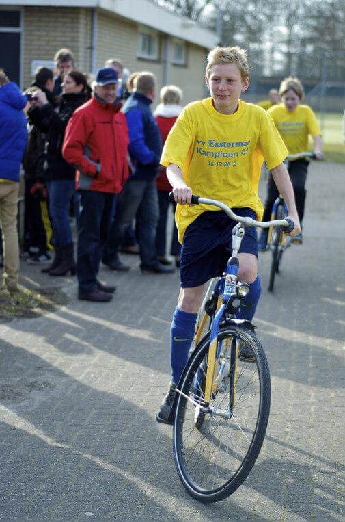 OOSTERMEER - gewonnen fietsen