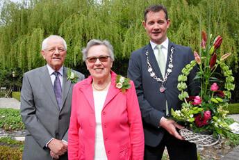 60 jarig huwelijk echtpaar Faber