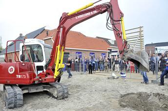 zuidhorn start bouw dorpsvenne 1