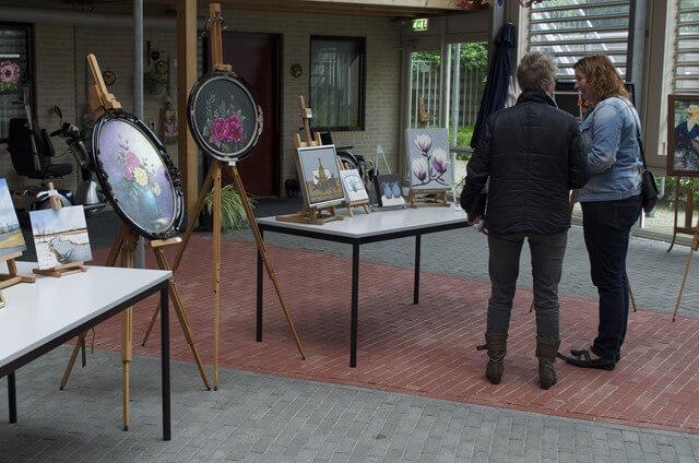 HARKEMA - schildersclub expositie