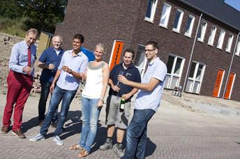 zuidhorn overhandiging sleutels nieuwbouw project 01