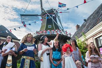 Noordhorn Leukste Dorp van Groningen