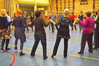 DOKKUM - dansgroep Pajdusko
