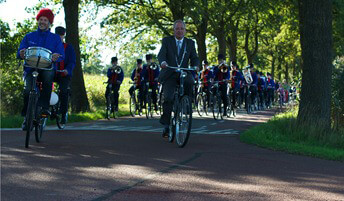 Crescendo 40 jaar fietstocht