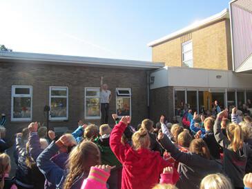 Start Kinderboekenweek Jan Kuiperschool