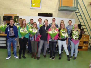 Uitreiking TL diploma's