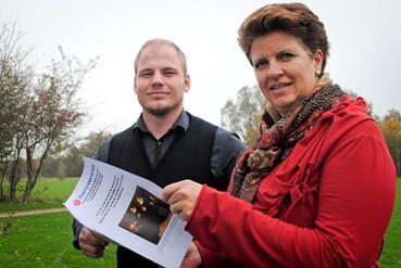 GROOTEGAST Arvid Jans en Myra Eeken