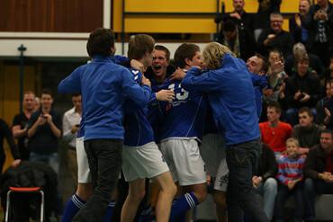 Voetbal : Drachten : Drachtster Boys - Harkemase Boys : Hoofdklasse C 2013/2014 :