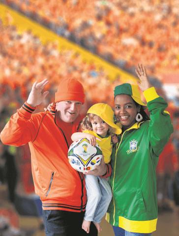 Opende Brasil vs Nederland