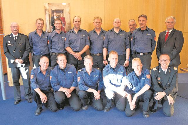 Zuidhorn - brandweerkorps Oldehove