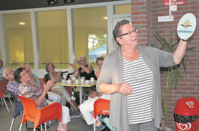 Oldekerk - afscheid Dinie