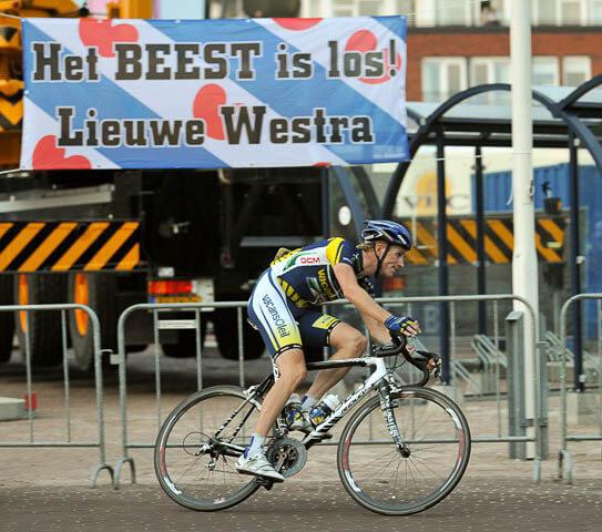 Wielrennen Profronde Surhuisterveen: Lieuwe Westra