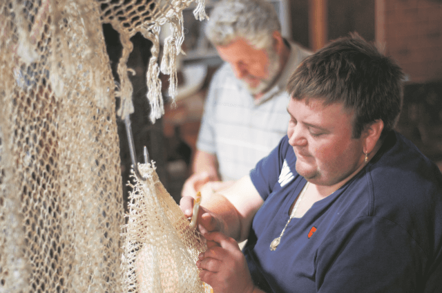 Zoutkamp - netten boeten