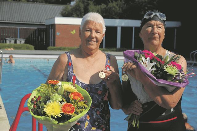 zwemvierdaagse jubilarissen