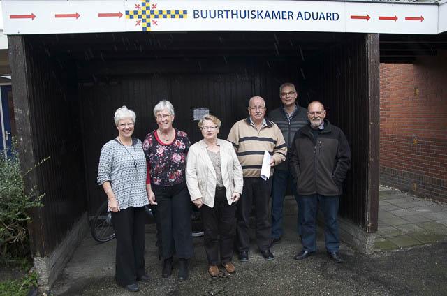 Aduard - buurthuiskamer vrijwilligersprijs