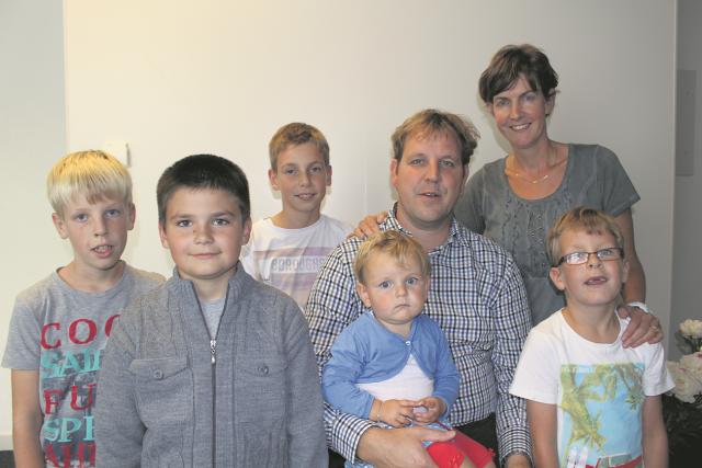 Briltil - gezin met vitalek