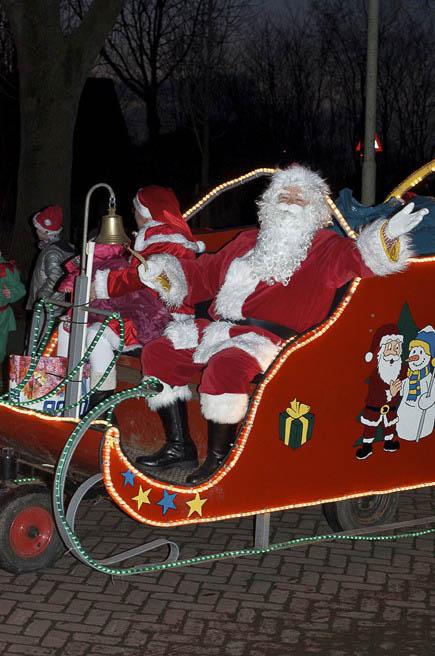 Aduard - intocht kerstman