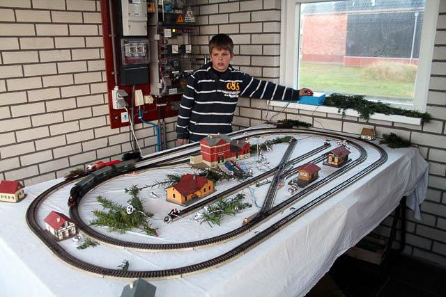 Zoutkamp - kersttrein Imme