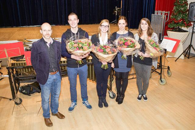 Niekerk-oldekerk - showkorps jubilarissen