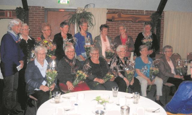 streek - jubilarissen huisvrouwenvereniging