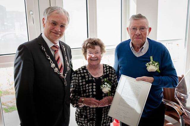 Zuidhorn 60jarig huwelijk