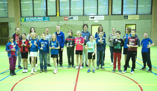 Zuidhorn - badmintontoernooi
