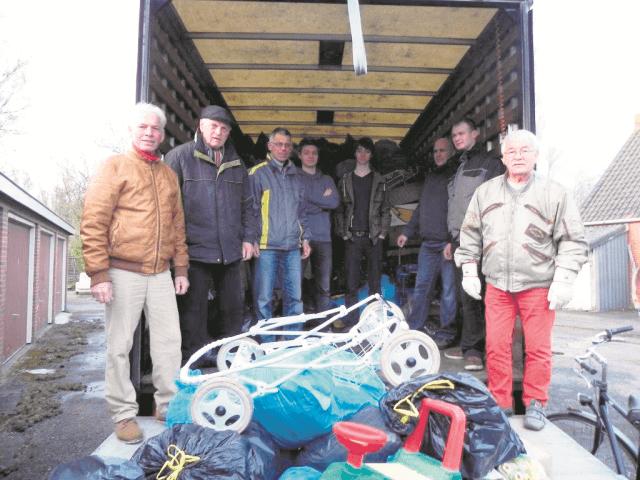Zuidhorn - transport Roemenië groter