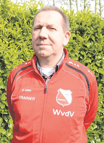 Opende - Wietse van der Veen hoofdtrainer VV Opende VRIJ