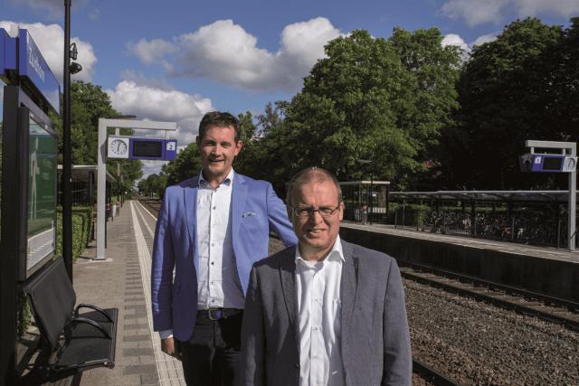 Zuidhorn Wethouders stol en nederveen