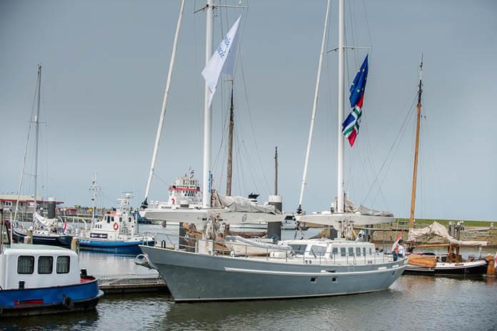 Lauwersoog Ecoboot Wubbo Ockels-2