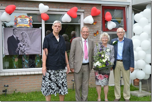 60 jaar huwelijk van vries-hamstra