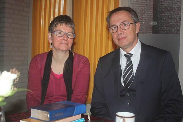 Ds. Gert van Helden 25 jaar predikant